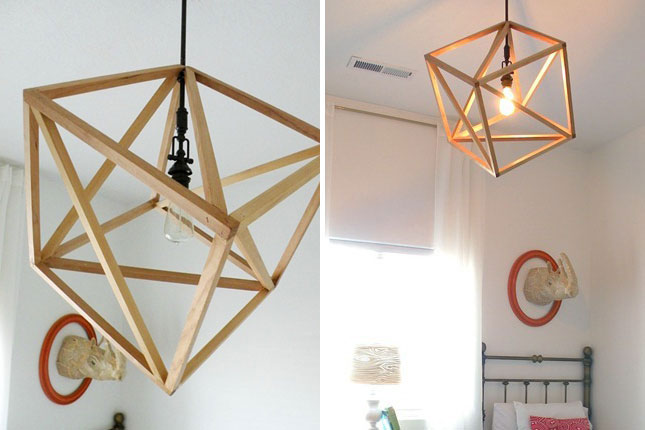Lampadario In Legno Fai Da Te : Lampadari in legno fai da te: lampadario industriale fai da te snowb