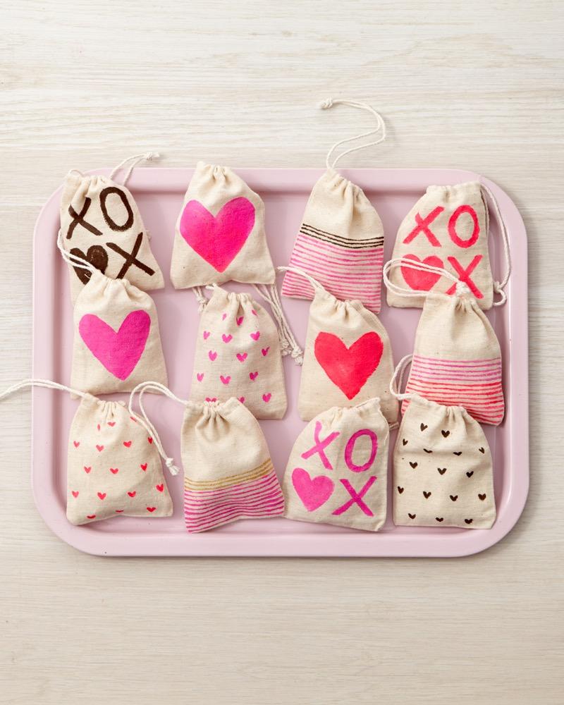 borsette portagioie a forma di cuore