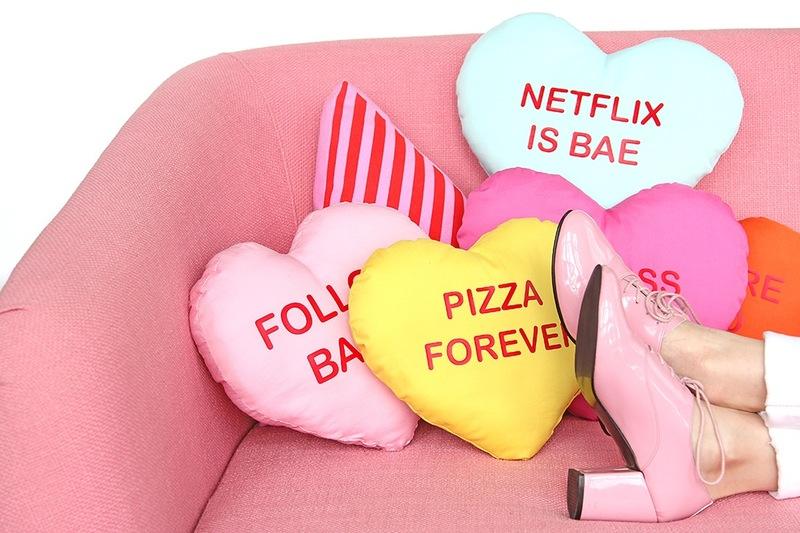 Cuscini di san valentino