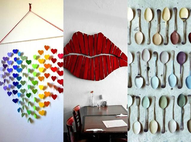 Decorazioni Pareti Fai Da Te : Wall art in versione creativa spunti originali per le pareti